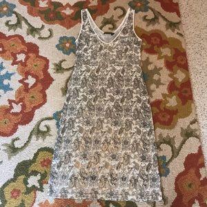 SOLD* Linda Loudermilk print dress